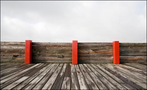 Three Red Posts