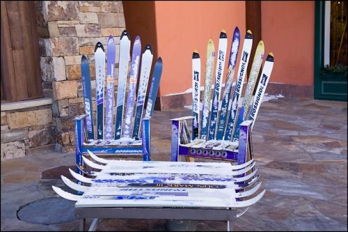 Ski Recycling