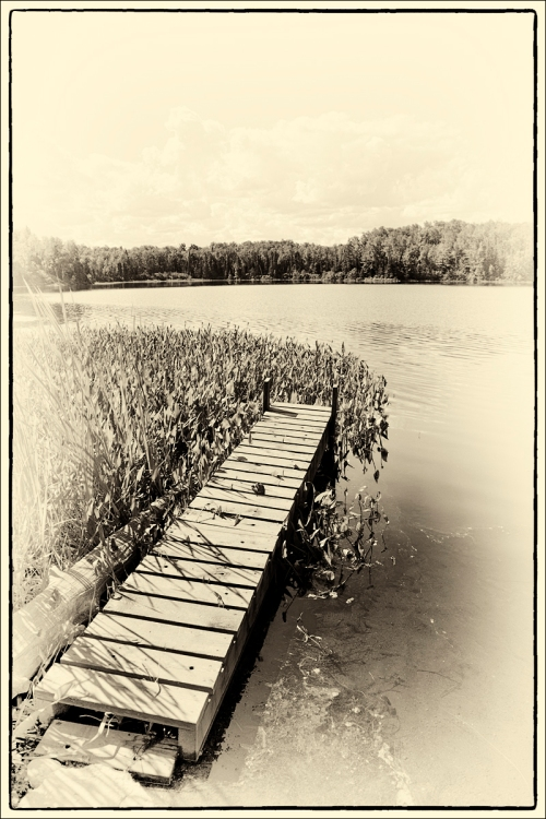 Mink Lake Dock Old