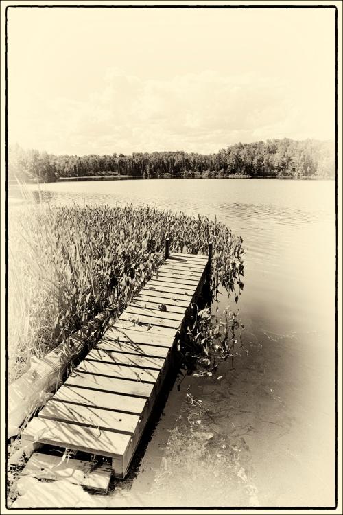 Mink Lake Dock Old