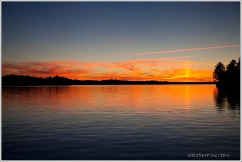 Sunset Trout Lake