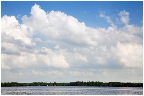 Cloud Over Trout Lake