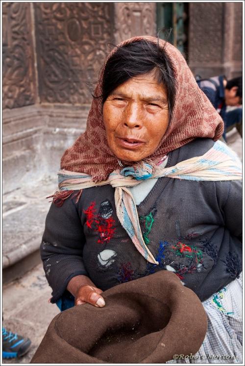 Begger Lady Cusco