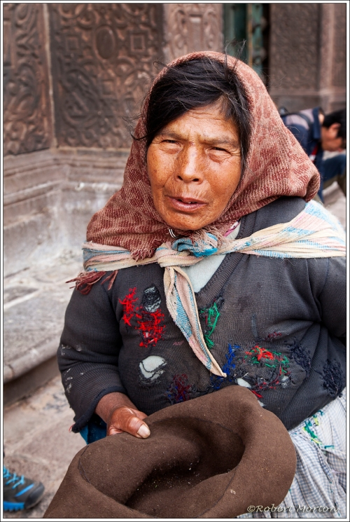 Begger Lady Cusco