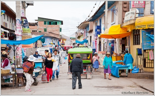 Urubamba Street Scene 2