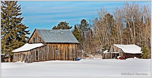 February Barn