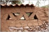 Mud Block Wall