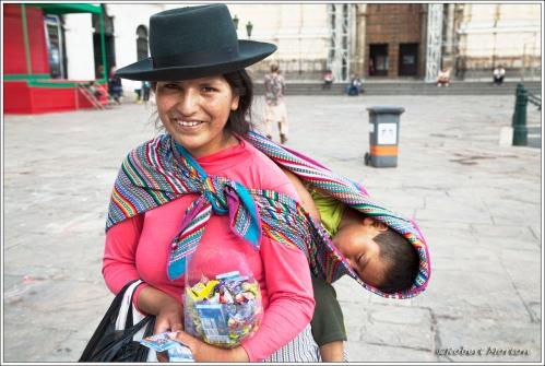 Street Vendor Lima