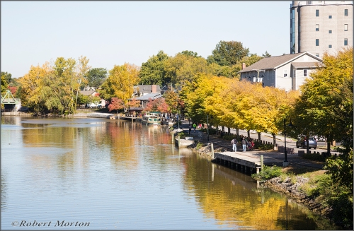 Fall on the Erie Canal