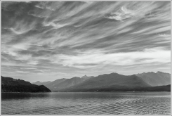 Kootenay Lake Morning Sky Mono