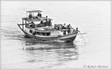 Irrawaddy Ferry BW