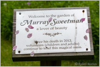 Murray Sweetman Plaque