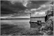 Boathouse Cache Bay Mono